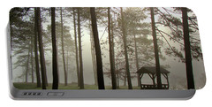 Foggy Morning @ The Park Portable Battery Charger