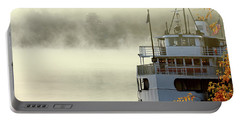 Foggy Morning Cruise Portable Battery Charger