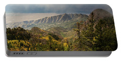 Foggy Mountain View Portable Battery Charger