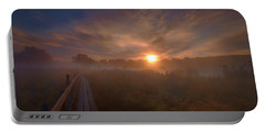Foggy Sun #g6 Portable Battery Charger