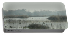 Foggy Wetlands Portable Battery Charger