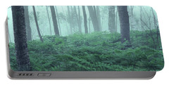 Foggy Woodland Portable Battery Charger