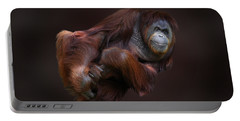Folded Orangutan Portable Battery Charger