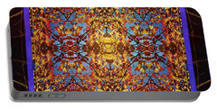 Foliage Tapestry Portable Battery Charger