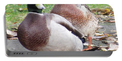 Quack..quack, Follow Me And I Follow You Later. Portable Battery Charger