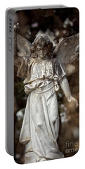 Follow The Heavenly Messenger - Christian Angel Art Portable Battery Charger