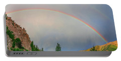 Follow The Rainbow To The Majestic Rockies Of Colorado.  Portable Battery Charger