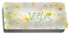 Follower Of Jesus Portable Battery Charger