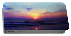 Folly Beach South Carolina Sunrise Portable Battery Charger