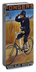Fongers In Gebruik Bil Nederlandsche En Nederlndsch Indische Leger Vintage Cycle Poster Portable Battery Charger