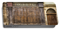 Fonsagrives In Saint-antonin-noble-val Portable Battery Charger by RicardMN Photography