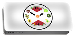 Food Clock Portable Battery Charger