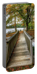 Foot Bridge At Linville Land Harbor Portable Battery Charger