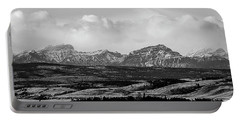 Foothills Alberta Portable Battery Charger by Elaine Hunter