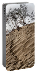 Portable Battery Charger featuring the photograph Footprints  by Arik Baltinester