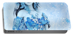 For All Winter Friends Portable Battery Charger by Jutta Maria Pusl