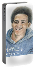 For His Grandmother Portable Battery Charger by Jan Dappen
