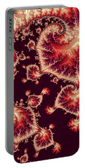 Portable Battery Charger featuring the digital art For Love Of Autumn by Susan Maxwell Schmidt