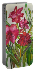 For The Amarylis Lovers Portable Battery Charger