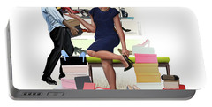 For The Love Of Shoes Portable Battery Charger