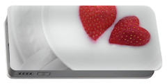 For Valentine's Day Portable Battery Charger by William Lee