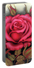 For You, The Red Rose Portable Battery Charger