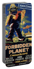 Forbidden Planet Amazing Poster Portable Battery Charger