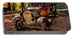 Ford Flatbed Truck Portable Battery Charger by Glenn McCarthy Art and Photography