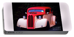 Portable Battery Charger featuring the photograph 1934 Ford Coupe Hot Rod by Baggieoldboy