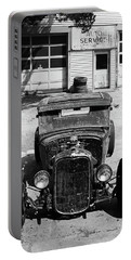 Portable Battery Charger featuring the photograph Ford Low-boy by Christopher McKenzie