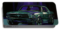 Ford Mustang 1967 Painting Portable Battery Charger