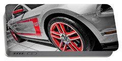Ford Mustang Boss 302 Portable Battery Charger by Gordon Dean II