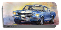Ford Mustang Gt 350 1966 Portable Battery Charger