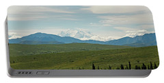 Foreground And Mountain Portable Battery Charger