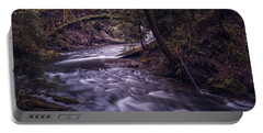 Forrest Bridge Portable Battery Charger by Chris McKenna