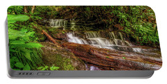Portable Battery Charger featuring the photograph Forest Falls by Christopher Holmes