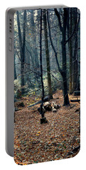 Fir Forest-1 Portable Battery Charger by Henryk Gorecki