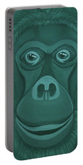 Forest Green Orangutan Portable Battery Charger