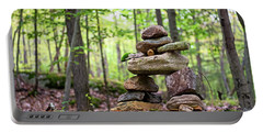 Forest Inukshuk Portable Battery Charger