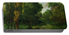 Forest Landscape Portable Battery Charger