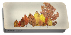 Forest Of Autumn Leaves II Portable Battery Charger