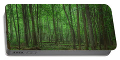 Forest Of Green Portable Battery Charger