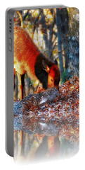 Forest Reflections Portable Battery Charger by Steve Warnstaff