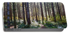 Forest Stroll Portable Battery Charger