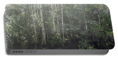 Forest, Sun Swamp Portable Battery Charger