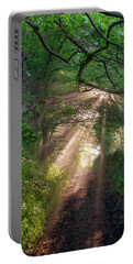 Portable Battery Charger featuring the photograph Forest Trail by Fabrizio Troiani