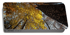 Forest Trees-yellow-orange Portable Battery Charger