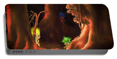 Forest Trolls Portable Battery Charger
