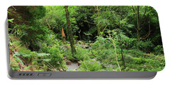 Portable Battery Charger featuring the photograph Forest Walk by Aidan Moran