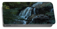 Forest Waterfall. Portable Battery Charger